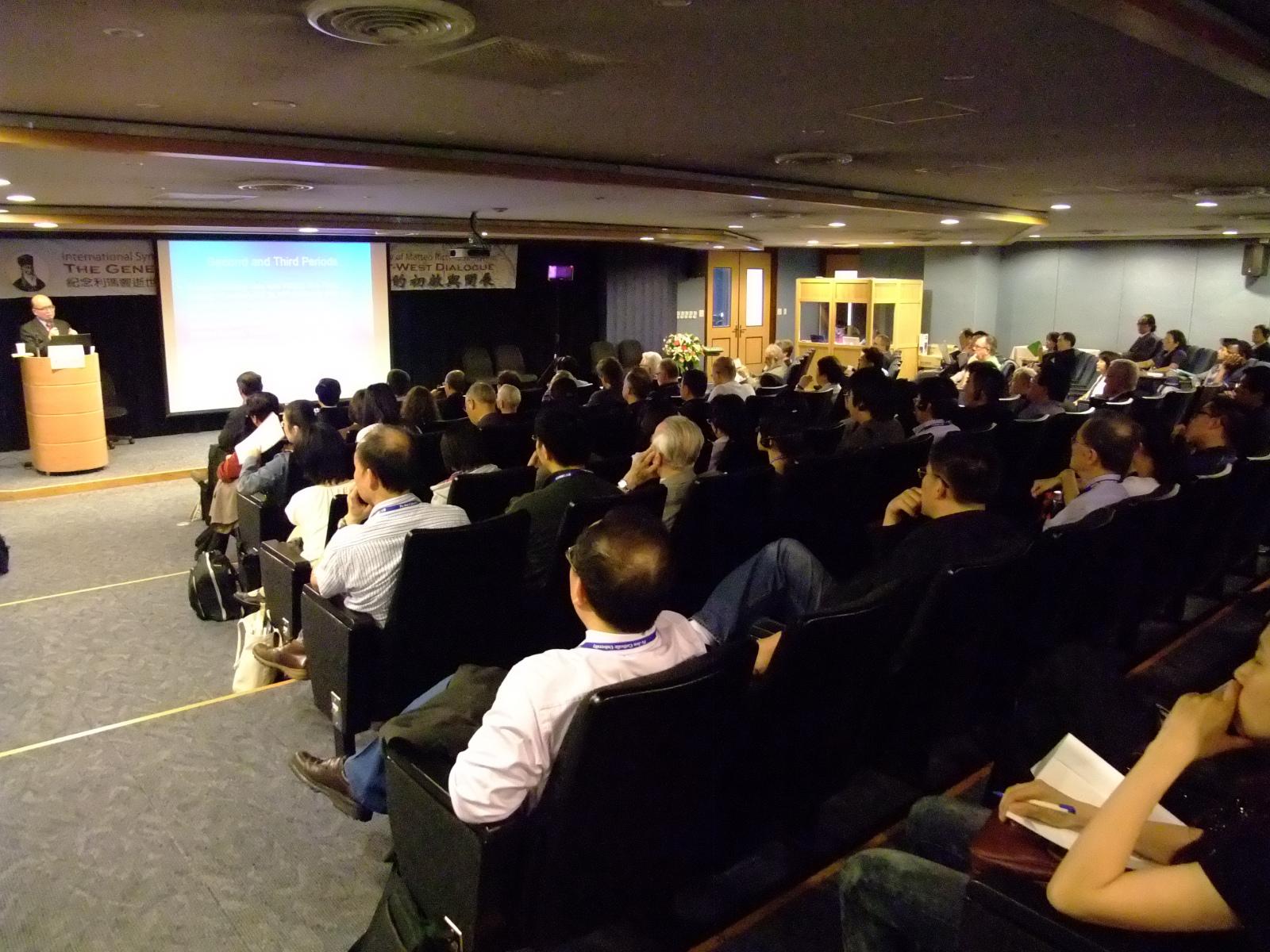201004紀念利瑪竇逝世四百週年國際學術研討會-15