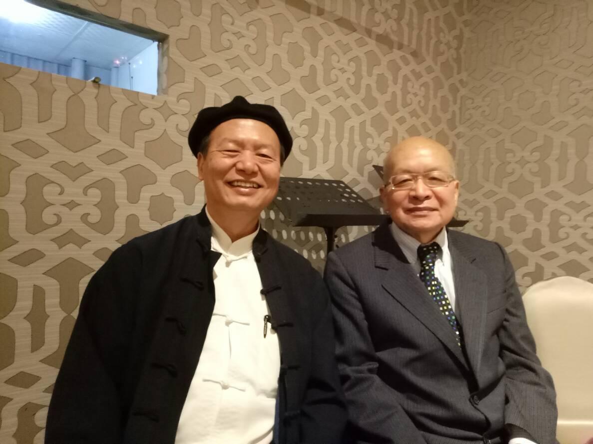 林安梧教授與沈清松教授